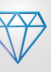 DIAMOND - coat rack